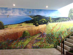 Gallery 3 งานเพ้นท์ผนัง (Wall paint) หลากสไตล์