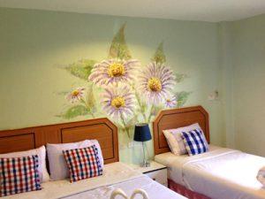 Gallery 4 งานเพ้นท์ลายดอกไม้ ต้นไม้ (Plant paint) หลากสไตล์