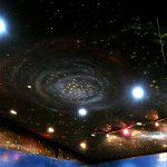 Gallery 11 งานเพ้นท์สไตล์ Galaxy ด้วยสีเรืองแสง
